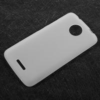 Matts gelový obal na mobil Lenovo Moto C - bílý