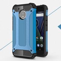 Armor odolný hybridní obal na Lenovo Moto G5 - modrý