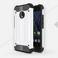 Armory odolný obal na mobil Lenovo Moto G5 Plus - bílý