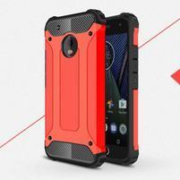 Armory odolný obal na mobil Lenovo Moto G5 Plus - červený
