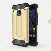 Armory odolný obal na mobil Lenovo Moto G5 Plus - zlatý