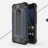 Armory odolný obal na mobil Lenovo Moto G5 Plus - modrošedý