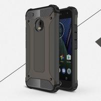Armory odolný obal na mobil Lenovo Moto G5 Plus - bronze