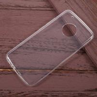 Transparentní gelový obal na Lenovo Moto G5 Plus