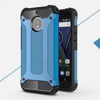 Armor odolný hybridní obal na Lenovo Moto G5s - modrý