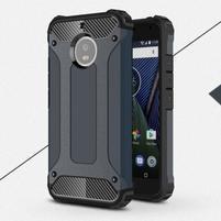 Armor odolný hybridní obal na Lenovo Moto G5s - tmavěmodrý