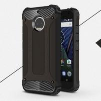 Armor odolný hybridní obal na Lenovo Moto G5s Plus - černý