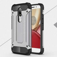 Armory gelový obal na mobil Lenovo Moto M - šedý