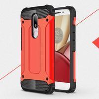 Armory gelový obal na mobil Lenovo Moto M - červený