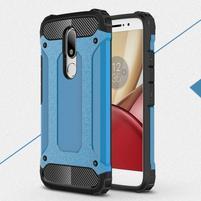 Armory gelový obal na mobil Lenovo Moto M - modrý