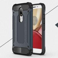 Armory gelový obal na mobil Lenovo Moto M - tmavěmodrý