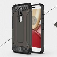 Armory gelový obal na mobil Lenovo Moto M - bronze