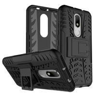 Outdoor odolný obal na mobil Lenovo Moto M - černý