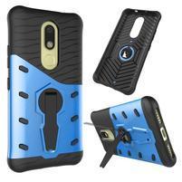 Defender odolný obal 2v1 na mobil Lenovo Moto M - modrý