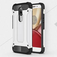 Armory gelový obal na mobil Lenovo Moto M - bílý