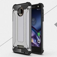 Guardy odolný obal na mobil Lenovo Moto Z - šedý