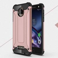 Guardy odolný obal na mobil Lenovo Moto Z - růžovozlatý