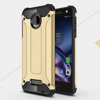 Guardy odolný obal na mobil Lenovo Moto Z - zlatý
