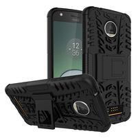Outdoor odolný obal na mobil Lenovo Moto Z Play - černý