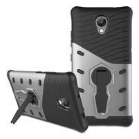 Guard odolný obal 2v1 na mobil Lenovo P2 - stříbrný
