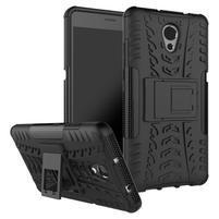 Outdoor odolný obal 2v1 na mobil Lenovo P2 - černý