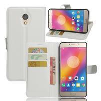 Grianes PU kožené pouzdro na mobil Lenovo P2 - bílé
