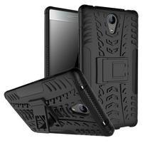 Outdoor odolný obal na mobil Lenovo Phab 2 - černý