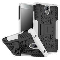 Outdoor odolný obal na mobil Lenovo Phab 2 - bílý