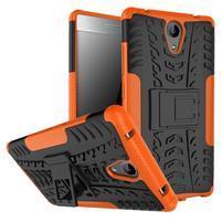 Outdoor odolný obal na mobil Lenovo Phab 2 - oranžový