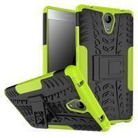 Outdoor odolný obal na mobil Lenovo Phab 2 - zelený