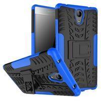 Outdoor odolný obal na mobil Lenovo Phab 2 - modrý