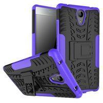 Outdoor odolný obal na mobil Lenovo Phab 2 - fialový