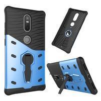Defender odolný obal na telefon Lenovo Phab 2 Plus - modrý