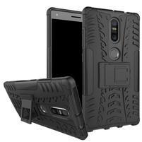 Outdoor odolný obal na mobil Lenovo Phab 2 Plus - černý