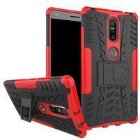 Outdoor odolný obal na mobil Lenovo Phab 2 Plus - červený
