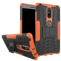 Outdoor odolný obal na mobil Lenovo Phab 2 Plus - oranžový