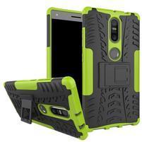 Outdoor odolný obal na mobil Lenovo Phab 2 Plus - zelený