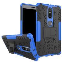 Outdoor odolný obal na mobil Lenovo Phab 2 Plus - modrý
