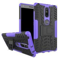 Outdoor odolný obal na mobil Lenovo Phab 2 Plus - fialový