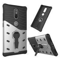 Defender odolný obal na telefon Lenovo Phab 2 Plus - stříbrný