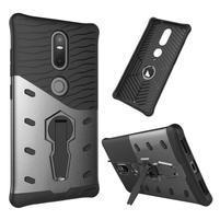 Defender odolný obal na telefon Lenovo Phab 2 Plus - šedý