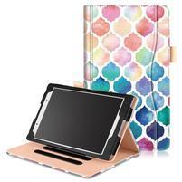 Emotive zapínací pouzdro na Lenovo Tab 4 8 - mozaika
