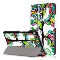Emotive zapínací pouzdro na Lenovo Tab 4 8 Plus - malovaný strom