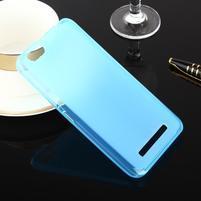 Matts gelový obal na mobil Lenovo Vibe C A2020 - modrý