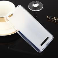 Matts gelový obal na mobil Lenovo Vibe C A2020 - bílý