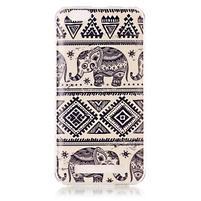 Flexi gelový obal na mobil Lenovo Vibe C A2020 - sloni