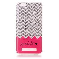 Flexi gelový obal na mobil Lenovo Vibe C A2020 - smile
