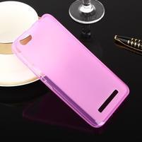 Matts gelový obal na mobil Lenovo Vibe C A2020 - rose