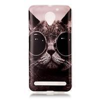 Motive gelový obal na Lenovo C2 - cool kočka