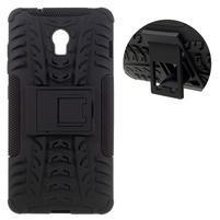 Outdoor odolný obal na mobil Lenovo Vibe P1 - černý